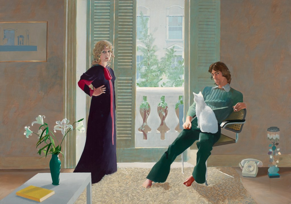 David Hockney: Mr and Mrs Clark and Percy, 1970/71, Tate, © David Hockney, Foto: Tate.