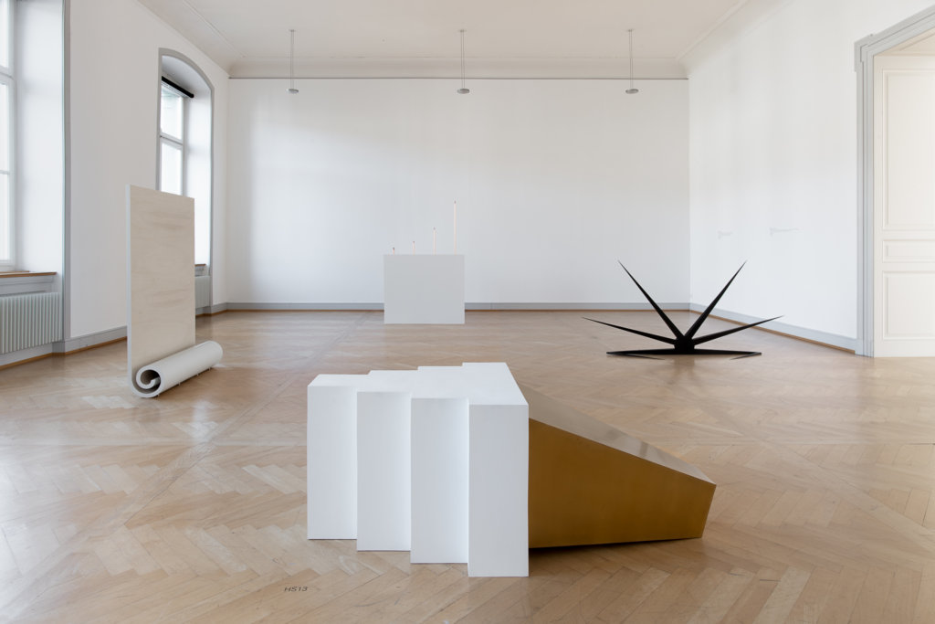 Iman Issa, Installationsansicht Kunstmuseum St.Gallen, Foto: Sebastian Stadler
