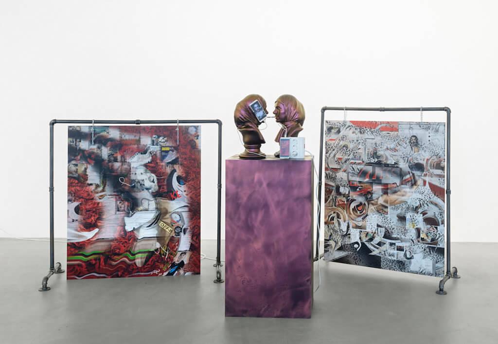 Multimediale Kunst-Installation von Anna Ehrenstein.