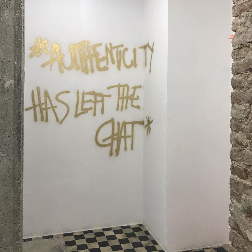 Kunst-Installation von Anna Ehrenstein.