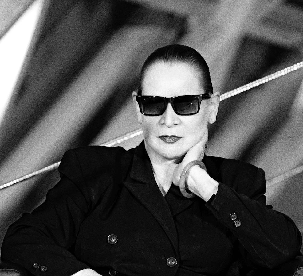 Portrait der Fotografin Katharina Sieverding