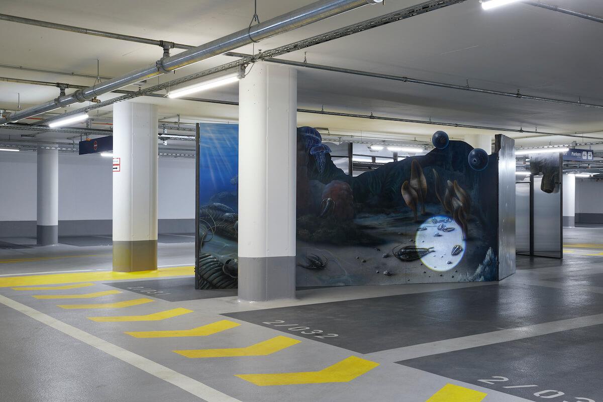 """Gerrit Frohne-Brinkmann,""""Backdrop"""", 2020, Foto: Volker Renner"""