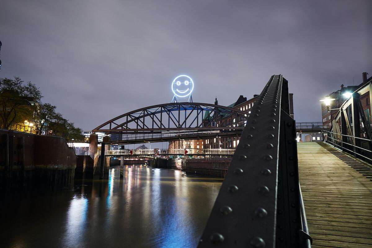 Imagine the City, Public Face, Julius von Bismarck, Benjamin Maus und Richard Wilhelmer, Foto: ©Carsten Dammann