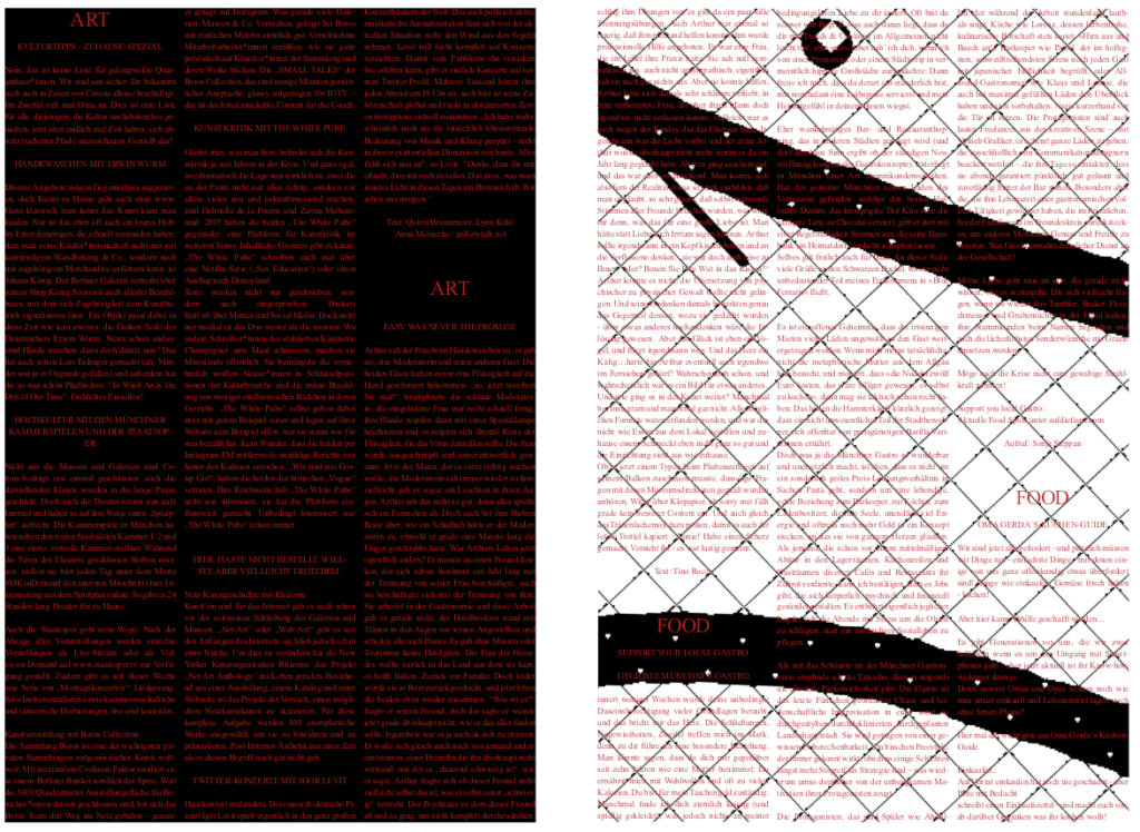 Auszug April-Ausgabe Super Paper.