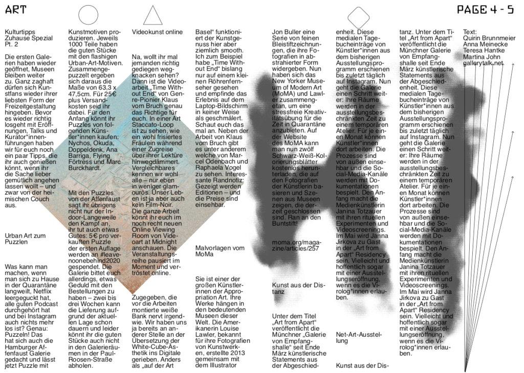 Auszug Mai-Ausgabe Super Paper.