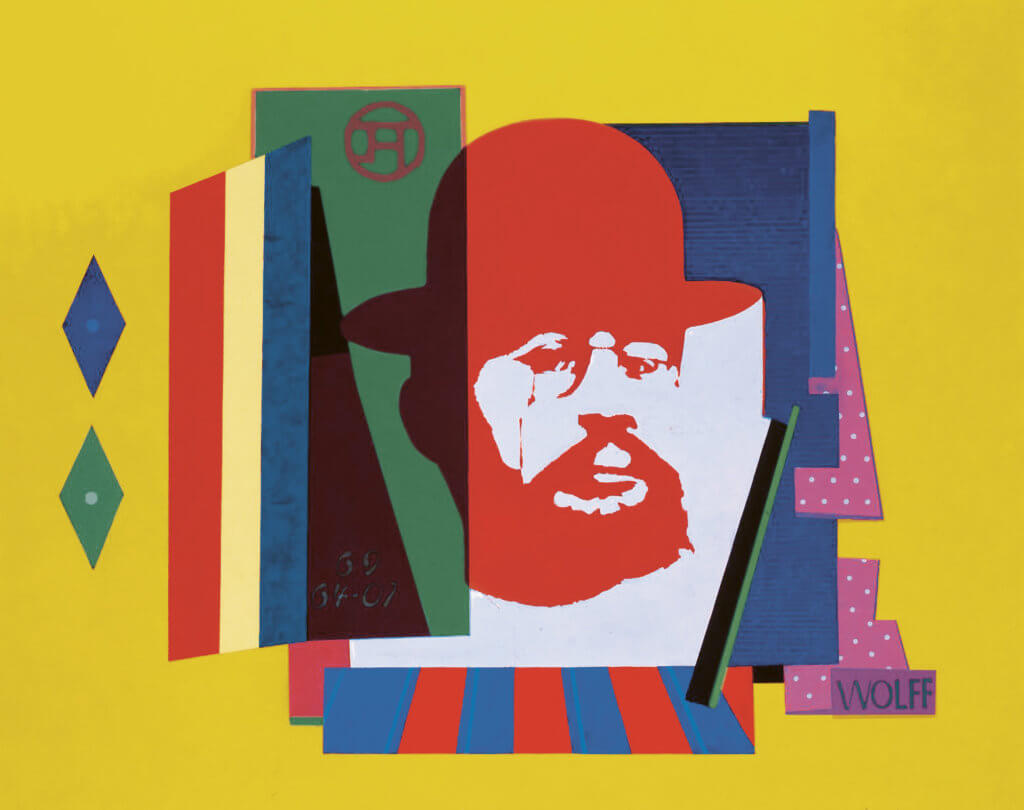 Willy Wolff: Henri Toulouse-Lautrec, 1969, Albertinum / Galerie Neue Meister, Staatliche Kunstsammlungen Dresden © VG Bild-Kunst, Bonn 2020, Foto: Elke Estel / Hans-Peter Klut