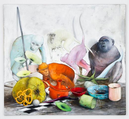 Stilleben in hellen bunten Farben von Ransome Stanley