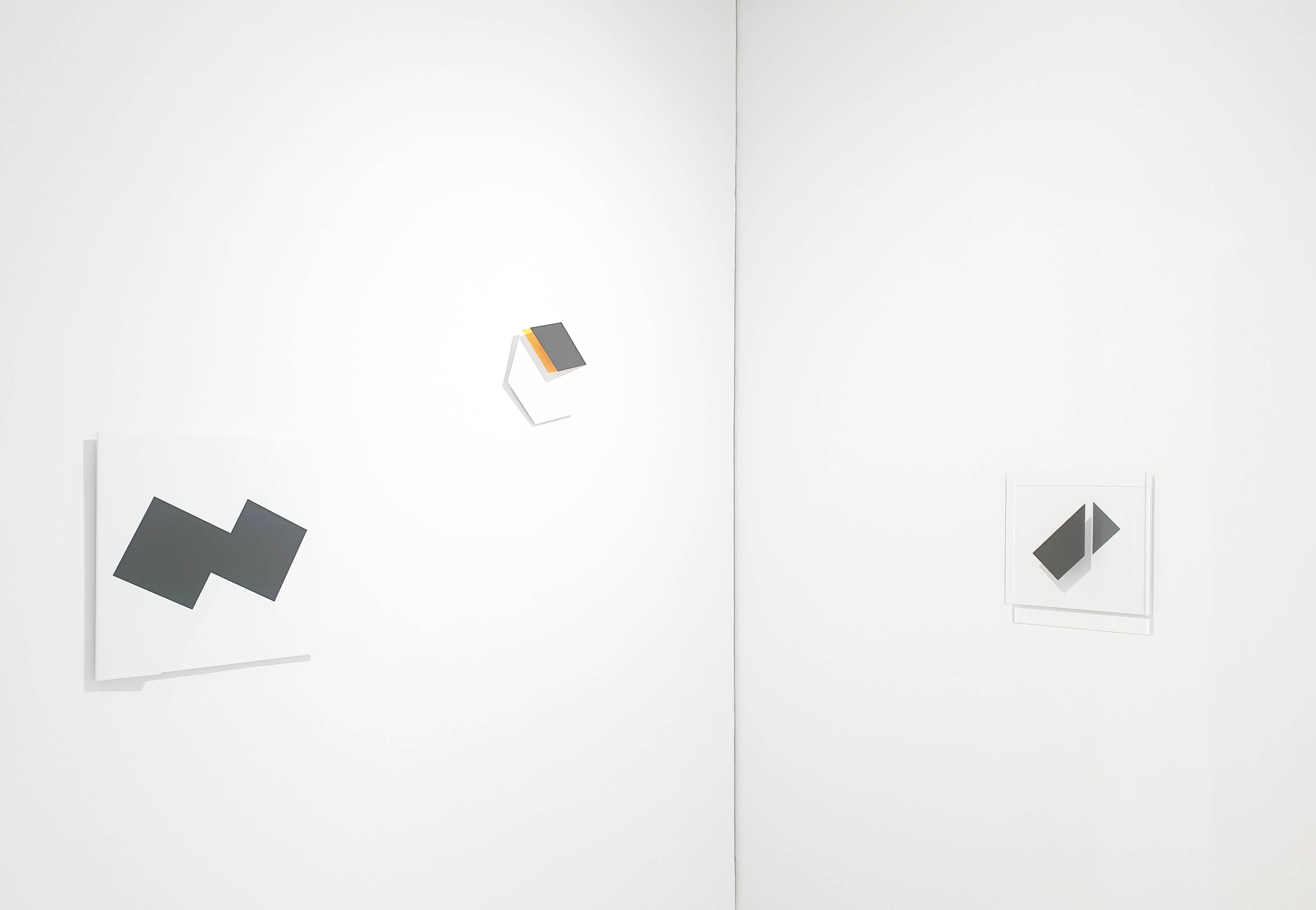 Drei Arbeiten von Gerhard Frömel