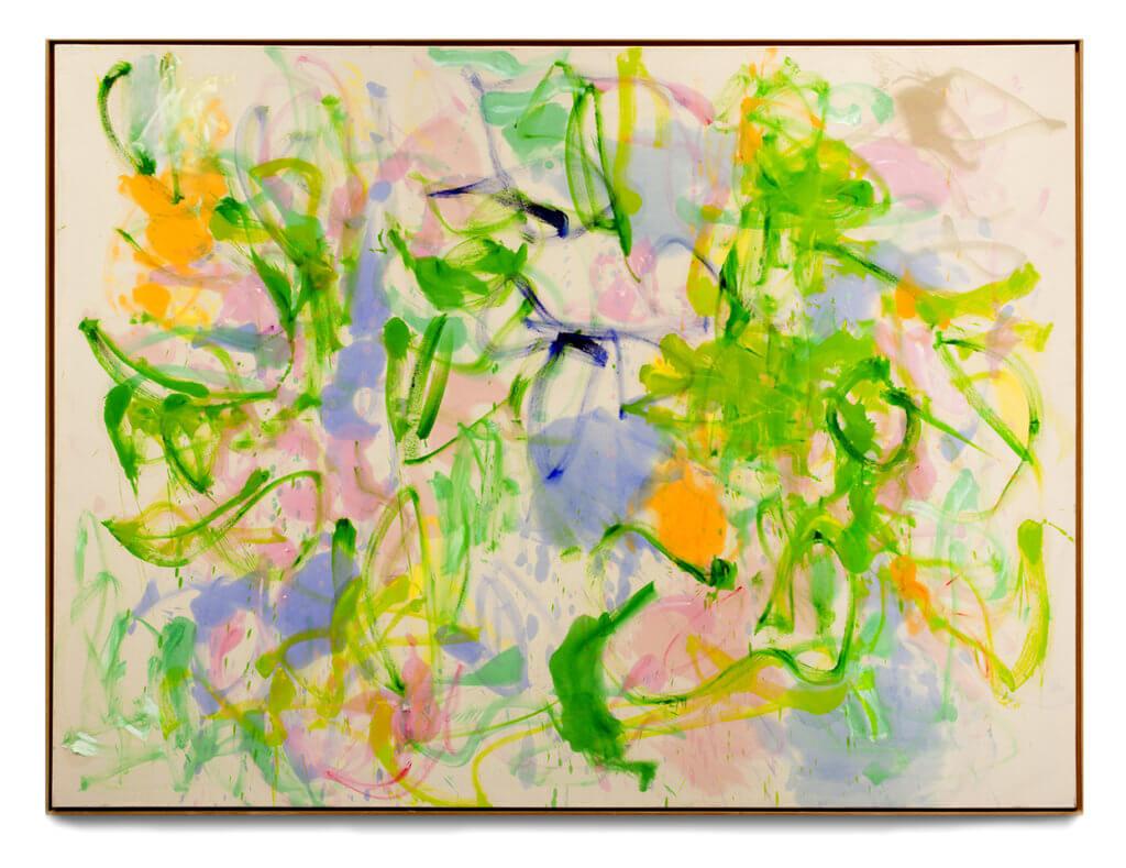 Winnie Seifert: Meadows, 2018, Öl auf Leinwand. 170 x 230 cm.