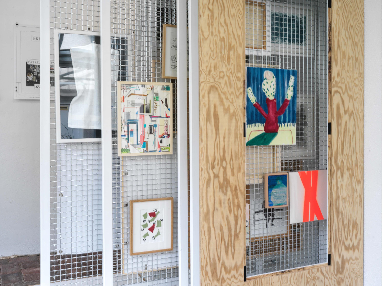 Archivraum des Private Collectors Rooms in Chemnitz.