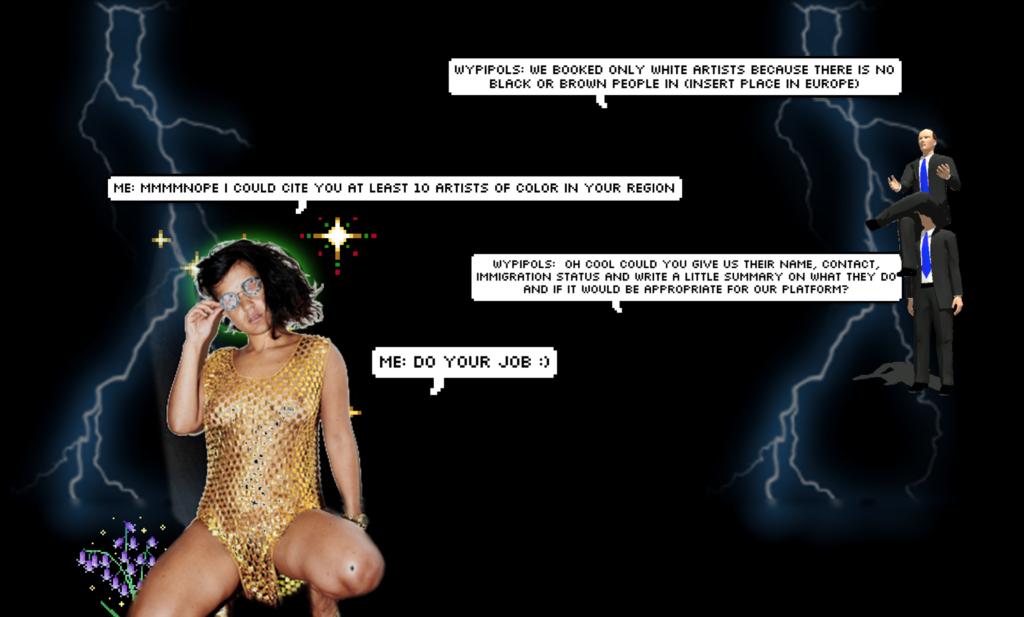 Screenshot der Online-Arbeit von Fannie Desosa.