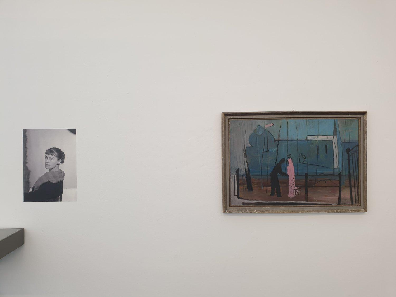 Arbeiten von Unica Zürn im Institut für moderne Kunst Nürnberg.