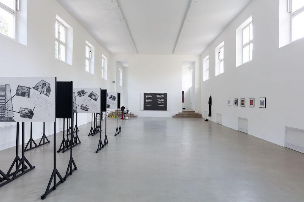 Ausstellungsansicht Not Working – Künstlerische Produktion und soziale Klasse, Kunstverein München, 2020. Courtesy Kunstverein München e.V.