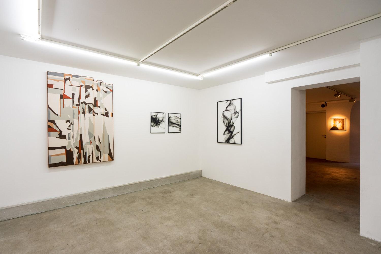 Ausstellungsansicht Kanya & Kage