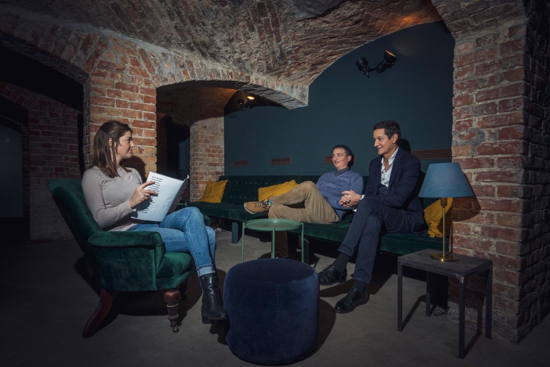 Interview mit Jan Kage und André Kanya mit Barbara Green