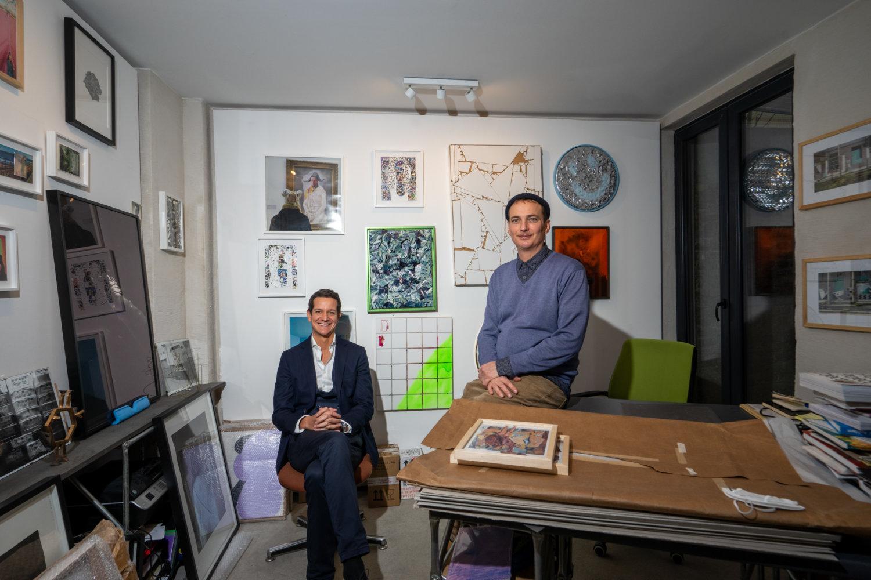 André Kanya und Jan Kage