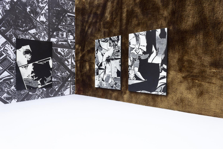 Online Ausstellung, schwarz weiß