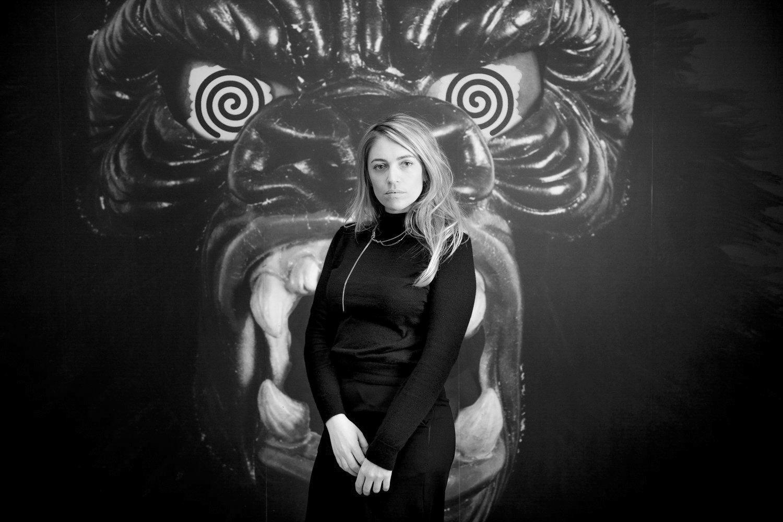 Laetitia Gorsy, Gründerin der Leipziger Galerie She BAM!