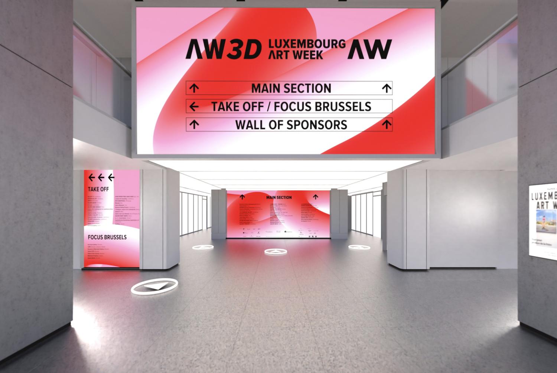 Eingang zur Luxemburg Art Week 3D-Tour.