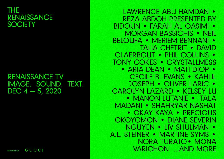 Teilnehmer der Renaissance TV Programms