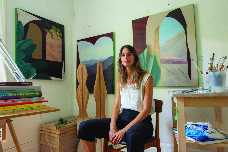Portrait der Künstlerin Joan Tremblay