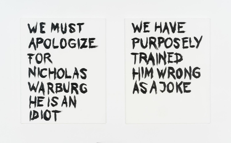 Text selbstgeschrieben von Warburg