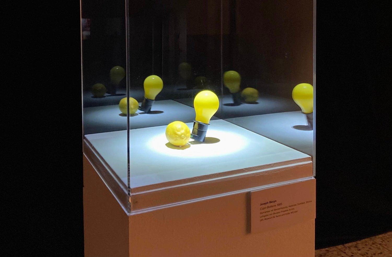 Joseph Beuys: Capri-Batteri. Foto: Marlena von Wedel.