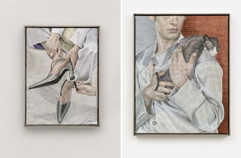 Zwei Arbeiten von Klára Hosnedlová bei Kraupa-Tuskany-Zeidler.