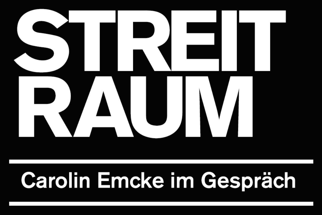 """Streitraum in der Schaubühne Berlin mit Carolin Emcke und anderen Akteuren der Kulturbranche über """"Corona und die Kultur""""."""