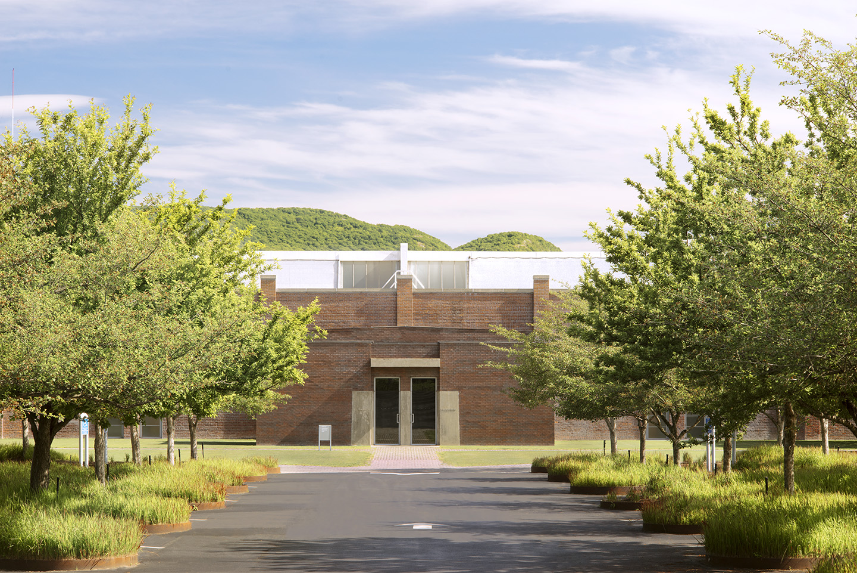 Haupteingang des Dia:Beacon Museums in Beacon.