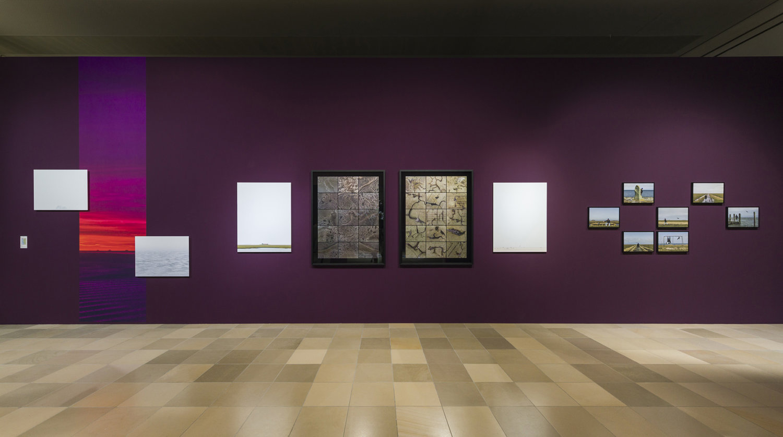 """Ausstellungsansicht mit Ivan Murzins Arbeiten im Rahmen von """"Air Conditioned - Graduate Exhibition"""" der Städelschule."""