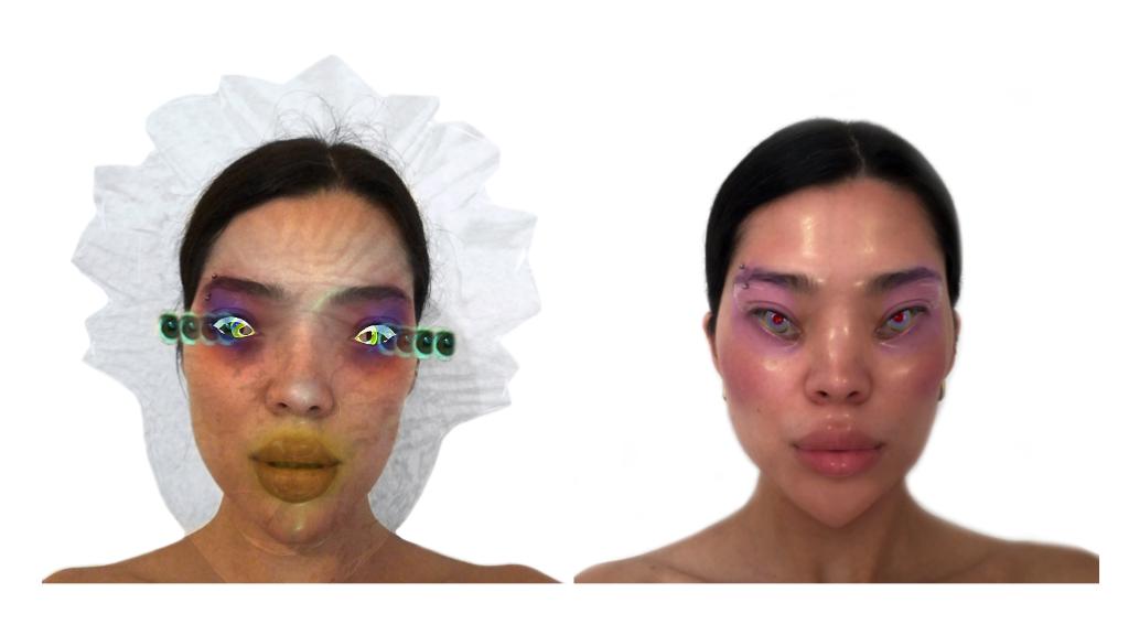 Keiken Face Filter Pisces und Cosmos