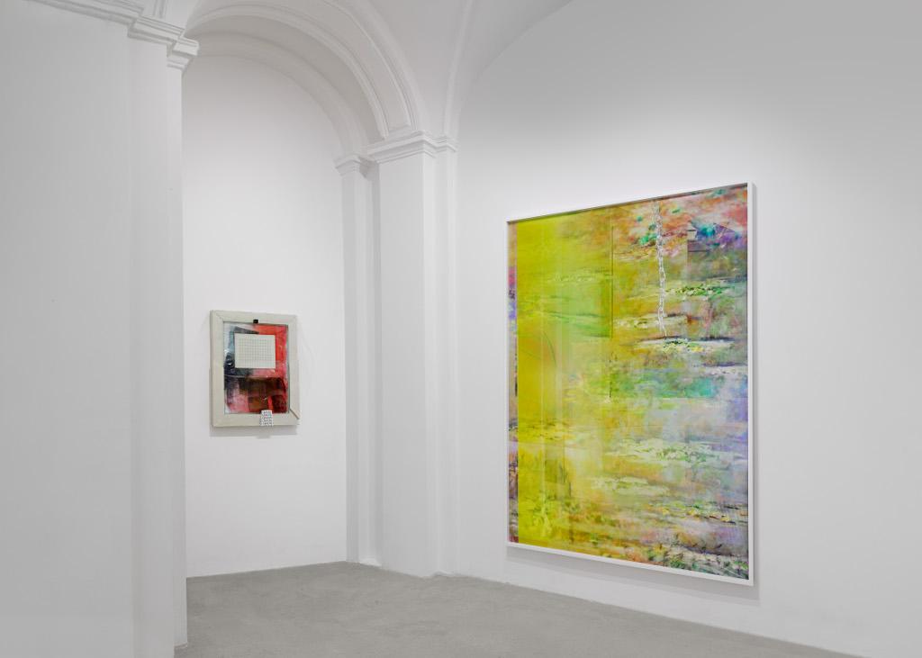 Zwei Arbeiten der Künstlerin Michele Abeles in der Galerie Tanya Leighton, Berlin.