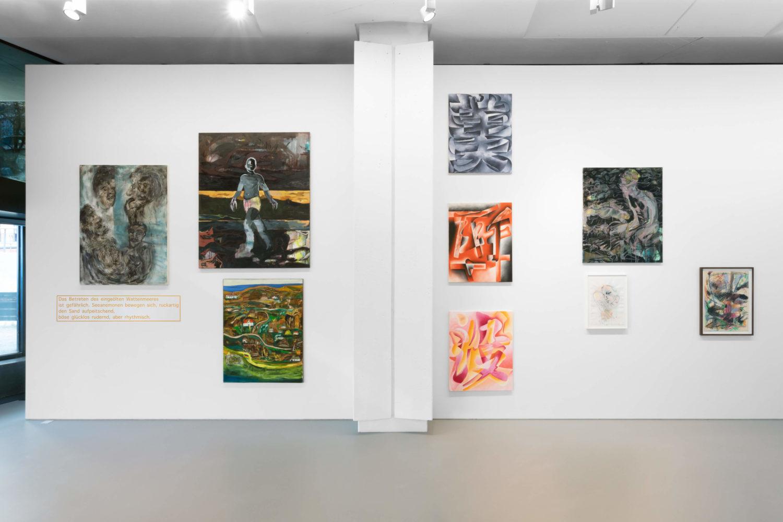 """Das Bild zeigt eine Installationsansicht der Ausstellung """"From Almora to Amrum"""" in der Galerie Efremidis, Berlin."""