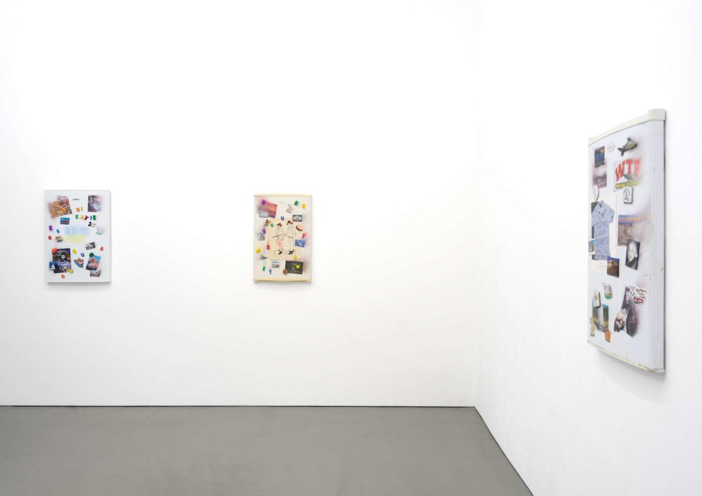 """Das Bild zeigt eine Ausstellungsansicht der Ausstellung """"Change Blindness"""" von Billie Clarken in der Galerie Åplus."""