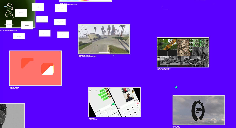 """Einzelne Kunstwerke in der Online-Ausstellung """"Come Closer!"""""""