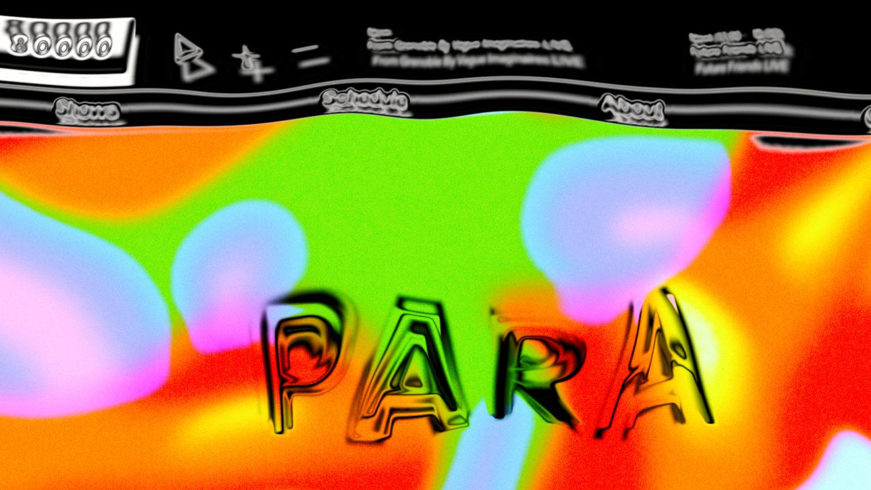 Zu sehen ist eine Collage aus mehreren Bildern, sie zeigt die Zusammenarbeit von PARA mit Radio 80000.