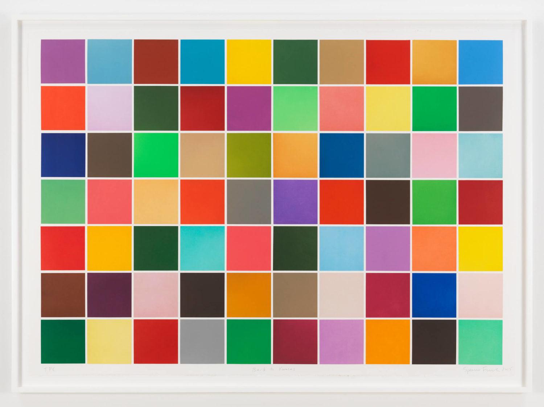 """Das Bild zeigt das Kunstwerk """"Back to Kansas"""" des amerikanischen Künstlers Spencer Finch."""