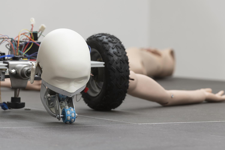 Roboter-Skulpture von Geuhmyung Jeong.