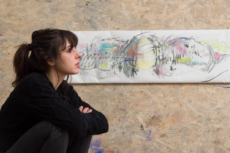 Lulù Nuti im Studio