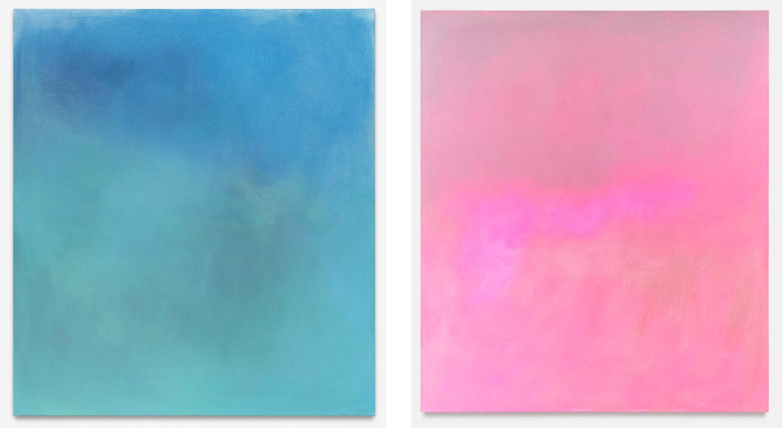 Das Bild zeigt zwei Werke des Künstlers Maximilian Rödels.