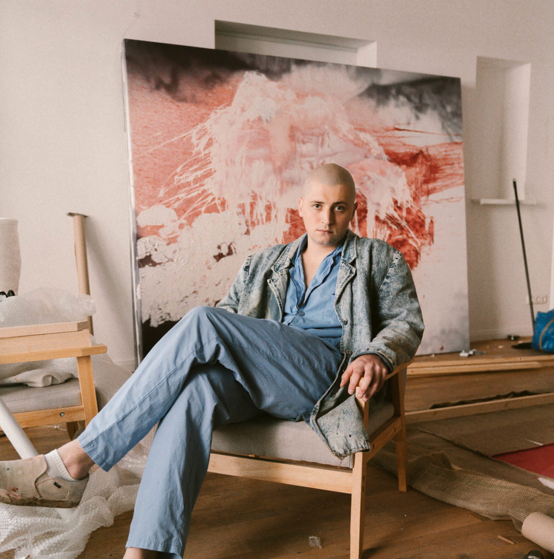 Das Bild zeigt den Künstler Daniel Spivakov.