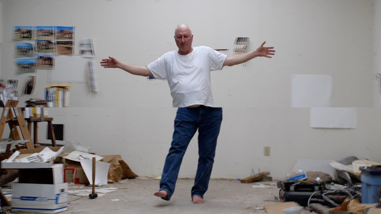 Bruce Nauman in seinem Studio