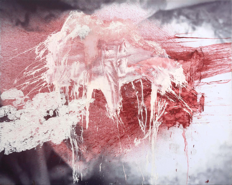 Das Bild zeigt den Ausschnitt eines Gemäldes des Künstlers Daniel Spivakov.