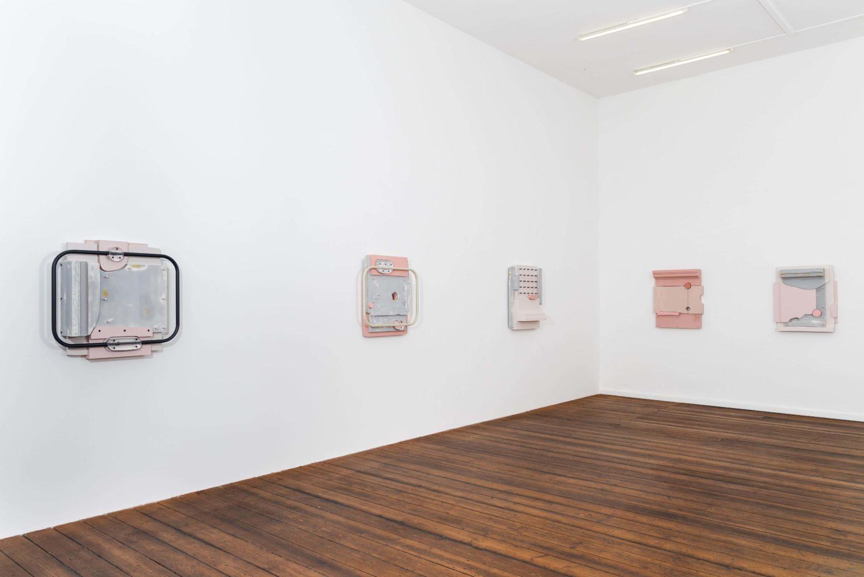 Faisal Habibi, Ausstellungsansicht, Jarmuschek. Foto: Clara Wenzel-Theiler