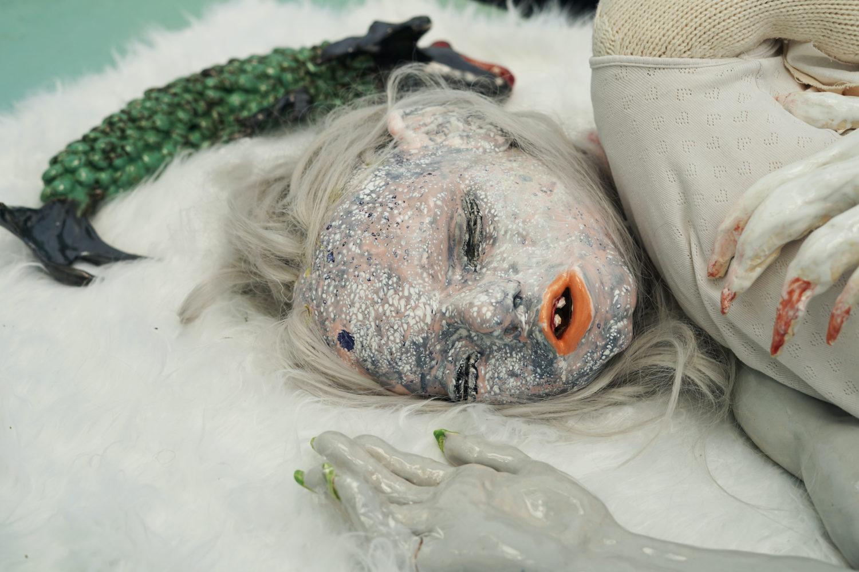 "Nschotschi Haslinger: ""Weltenzelt"", Auditive Installation, Stadtpark Harburg, Gegenwart 2021"