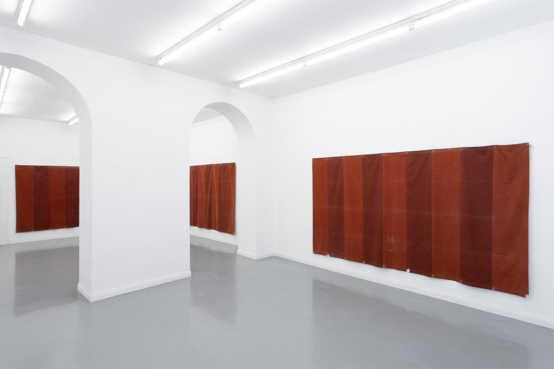Ausstellungsansicht Constantin Thun in der Galerie Fonti in Neapel.